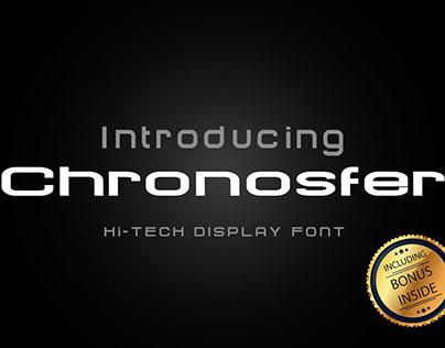 Free Futuristic Logo Font (Chronosfer)