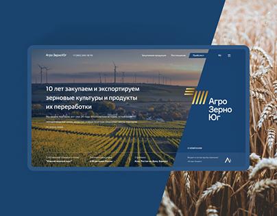 Website - Agro Grain South