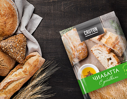 Packaging design for a line of bakery products