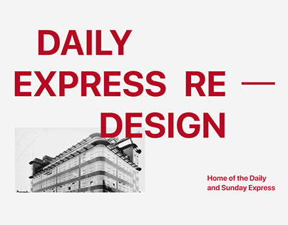 News website redesign 2021