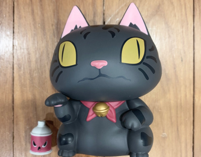 ALLEY KAT 4in VINYL ART FIGURE