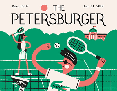 The Petersburger Magazine - cover concept. Part I.