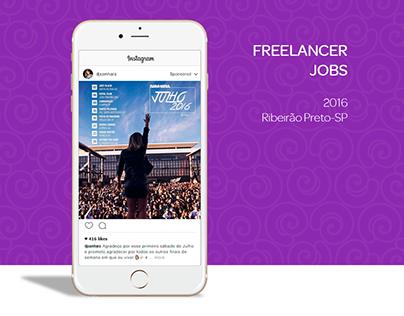 Trabalhos • Freelance