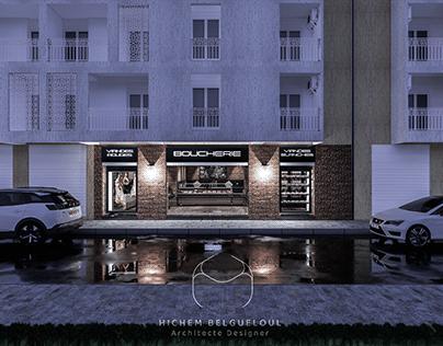 Boucherie 78 m² (Alger)