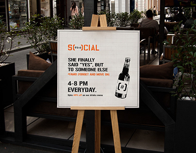 If 'Social' had to reimagine it's marketing