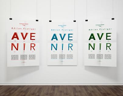 Avenir Specimen // IED Torino