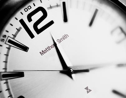 Watch Branding Matthew Smith