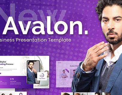 Avalon - Business Presentation Template