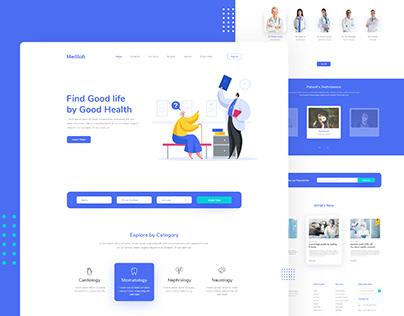 Medical Web | Landing Page Design