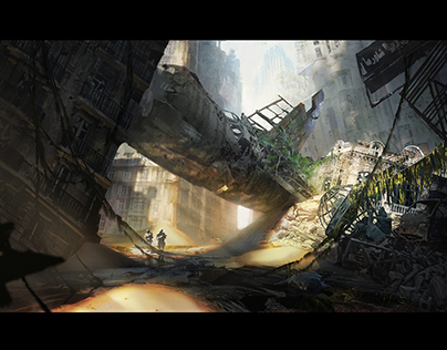 Relics of the Past - Concept Art