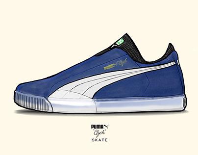 Puma Clyde Skate Concept