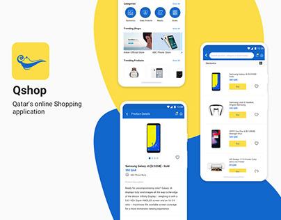 Qshop - Mobile E-commerce
