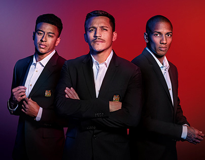 CHIVAS REGAL campaign with Manchester United
