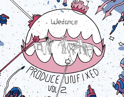 Wedance (위댄스) Album Cover and Interior Art