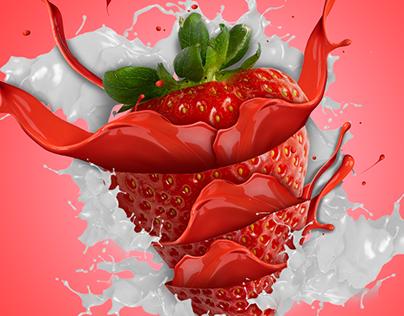 Food Manipulation - Paint Splatters