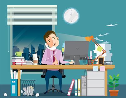 work under stress
