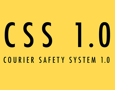 Courier Safety System 1.0