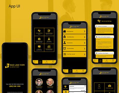 Web Site & App UI