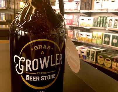 The Beer Store Growlers