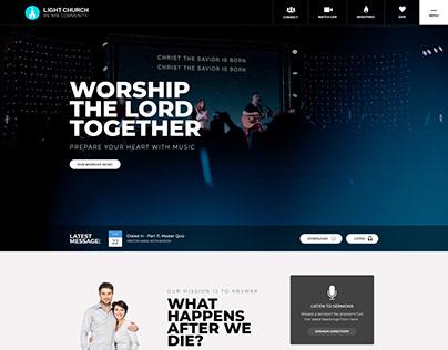 Light Church Web Design