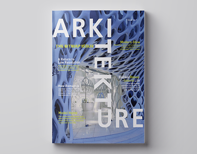 Architekture Magazine - Publication Design