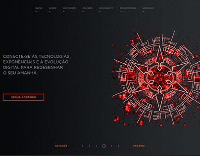 Website - Dragon Code Agency - part 2