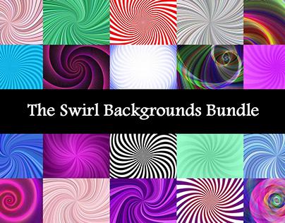 The Swirl Backgrounds Bundle