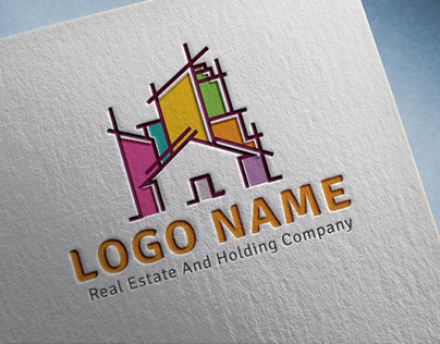 Real Estate Logo Folio