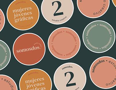 SOMOSDOS. Brand Identity
