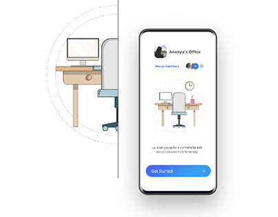 Off Office- WFH set-up and sharing app for families