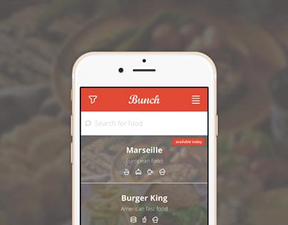 Bunch - Mobile Web App