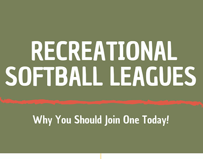 The Benefits of Joining a Recreational Softball League
