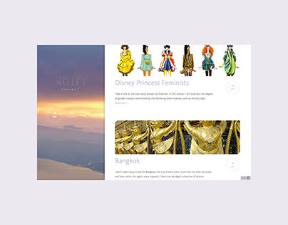 Web design & development — Stellify (2012)