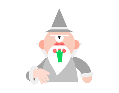 Wizard Sticker Set for Dropbox Paper