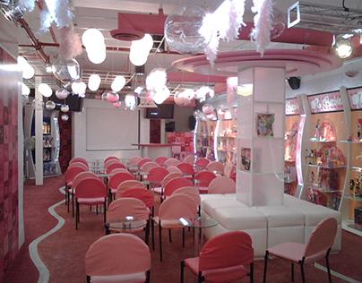 Sala Exhibición Barbie para Mattel CdMx