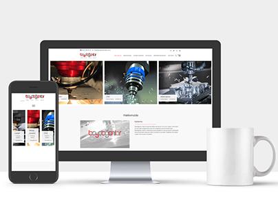 Baydoğanlar Metal Web Site Tasarımı