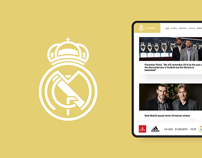 REAL MADRID redesign