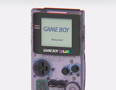 Nintendo Game Boy Color - CGI