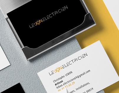 lebon électricien # stationery
