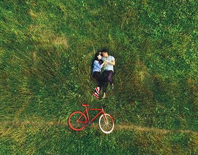 Pre-wedding film in Tay Ninh Vietnam