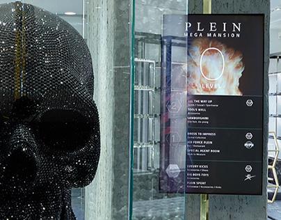 Plein Mega Mansion - In store Digital Contents