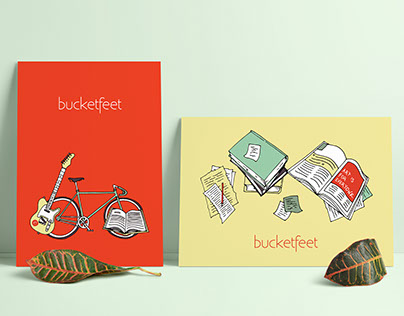 Bucketfeet Interview Illustrations