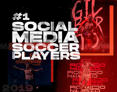 Social Media | Soccer Players #1 | 2019