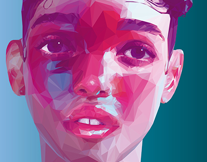 Low Poly / High Poly Portraits: Artists