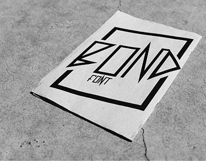 - BOND STREET font -