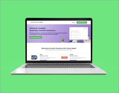 Entrepreneur Mart | Web Based Platform Design - GAME