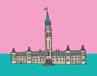 Canada 150 - Illustrations