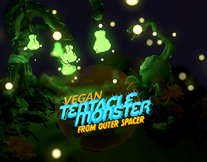VEGAN TENTACLE MONSTER FROM OUTER SPACE | VR Sculpting