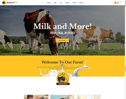 Dairy firm website