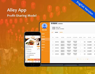 Alley - Profit-Sharing Model